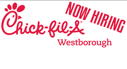 Chick-fil-A Now Hiring!