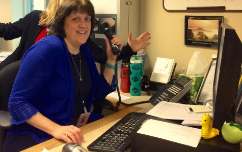 Mrs. Orlando:  One of the Friendly Faces in the WHS Main Office