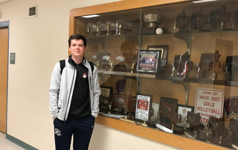 WHS Sophomore Noah Jaeger Bruehl Hopeful for Tennis Team Season
