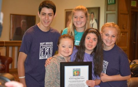 Westborough High School Best Buddies Wins National High School Chapter of the Year!