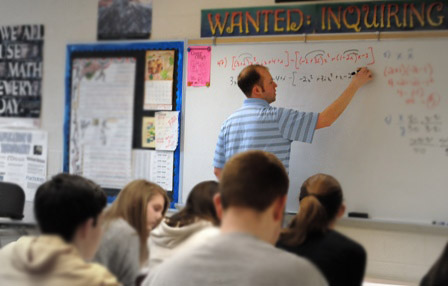 Teaching at the Right Angle: WHS Math Teacher Mr. Richards