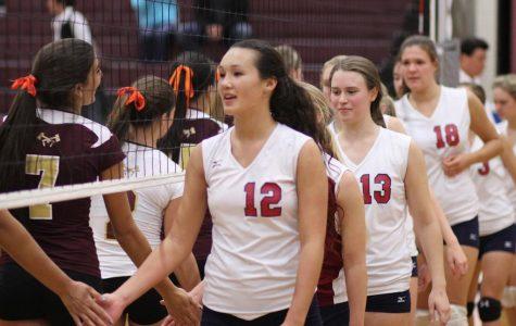 Girls Varsity Volleyball September 21