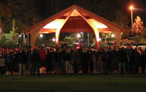 Vigil in Memory of Lizzie Marriott