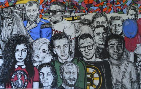 Follow-up: Stevens' Artwork Showcased at Boston Calling