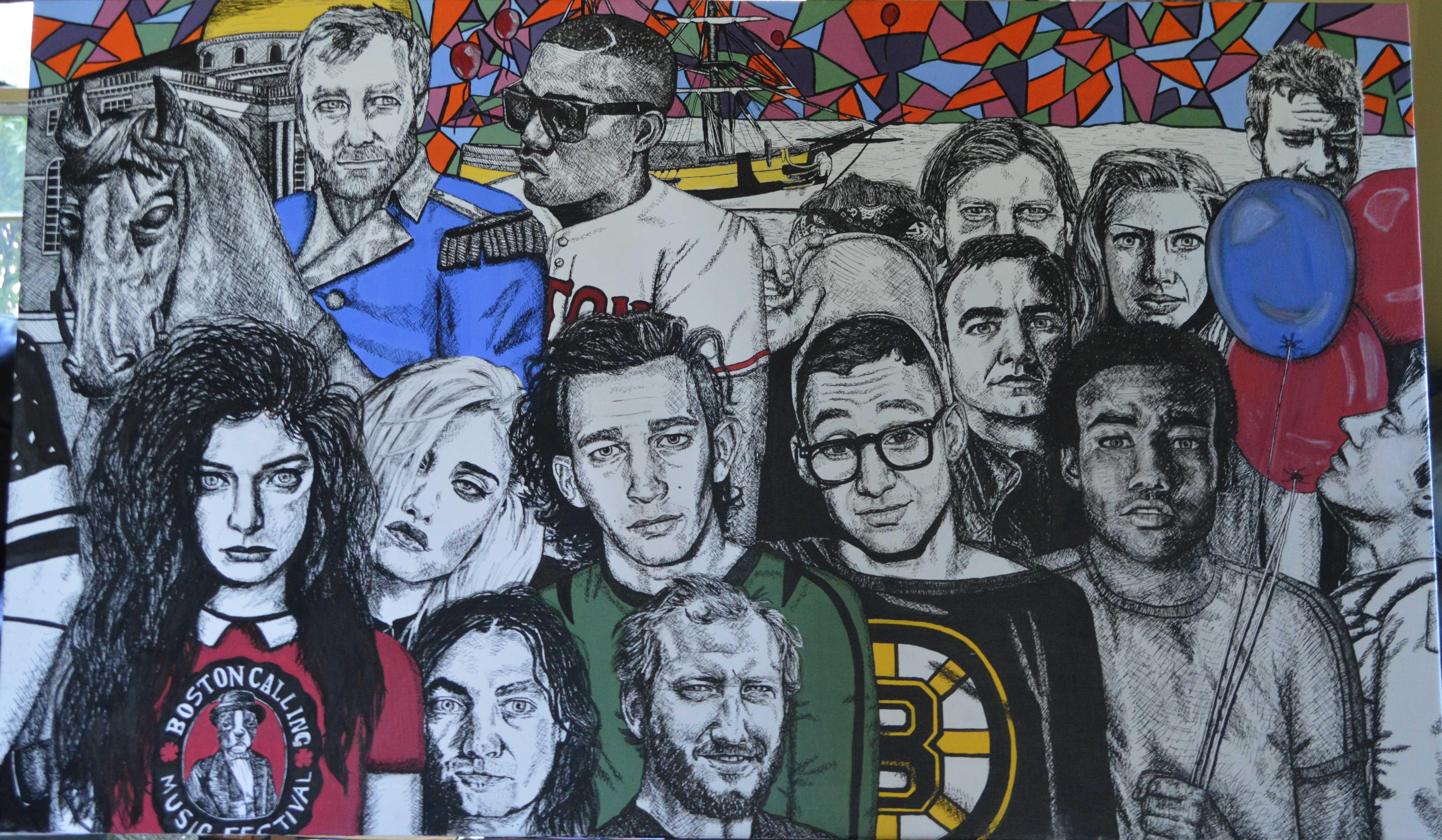 Michelle Stevens' mural