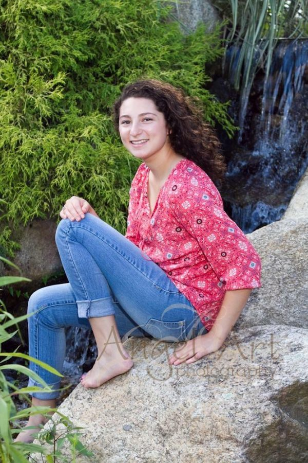 """Senior Carly Lurier: """"Putting Her Heart Into Everything"""""""