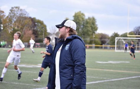 WHS Soccer welcomes back alum Griffin Barry to coach
