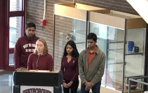 WHS Students Participate in Nation Wide Walk Out