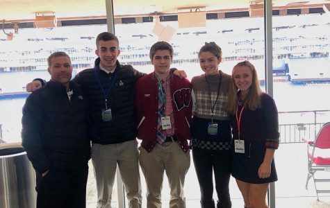 Four Rangers Take on Gillette Stadium at MIAA Sportsmanship Summit