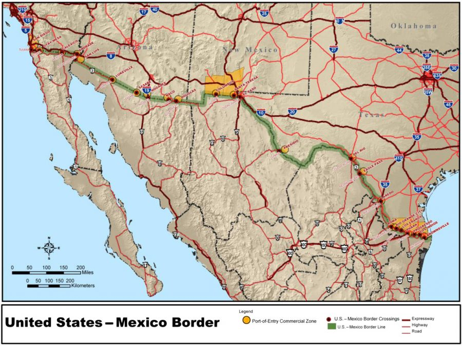 On+November+25%2C+U.S.+Border+Patrol+fired+tear+gas+into+a+crowd+of+immigrants+who+were+rushing+the+U.S.+Border.