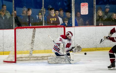 Schiffman the Veteran Anchor of Young Ranger Hockey Team