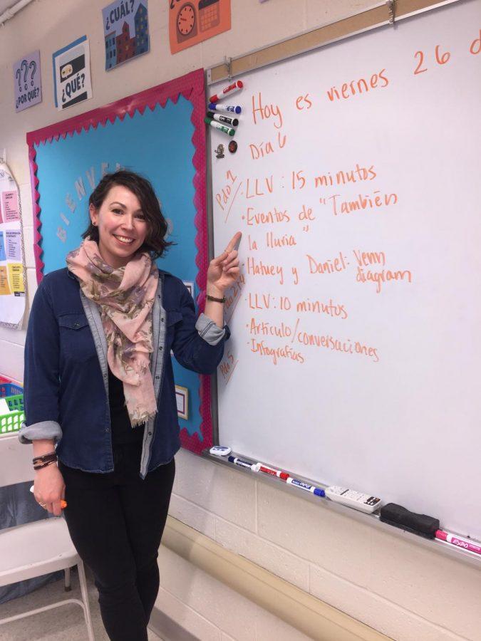 Señorita Rhein Makes an Impact at WHS
