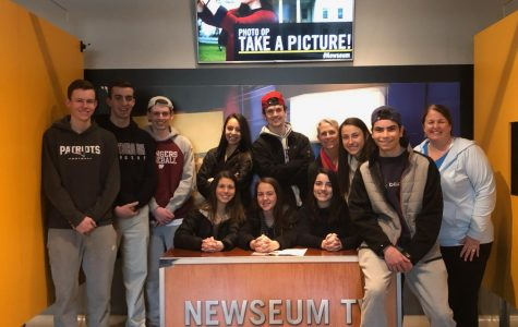 WHS Journalism Students Visit Newseum in Washington D.C.