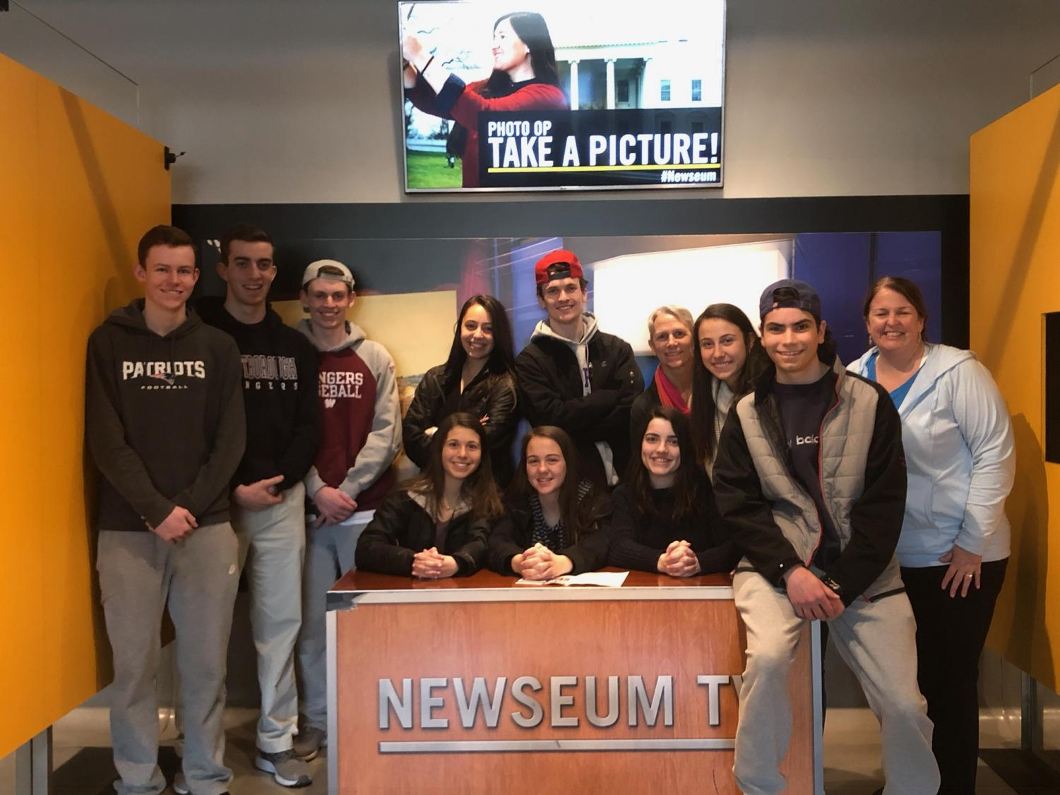 WHS Journalists traveled to Washington D.C. on March 27 to explore D.C. and especially the Newseum.