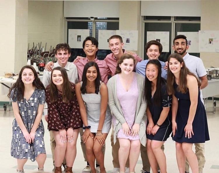 2019-2020 Student Council Executive Board
