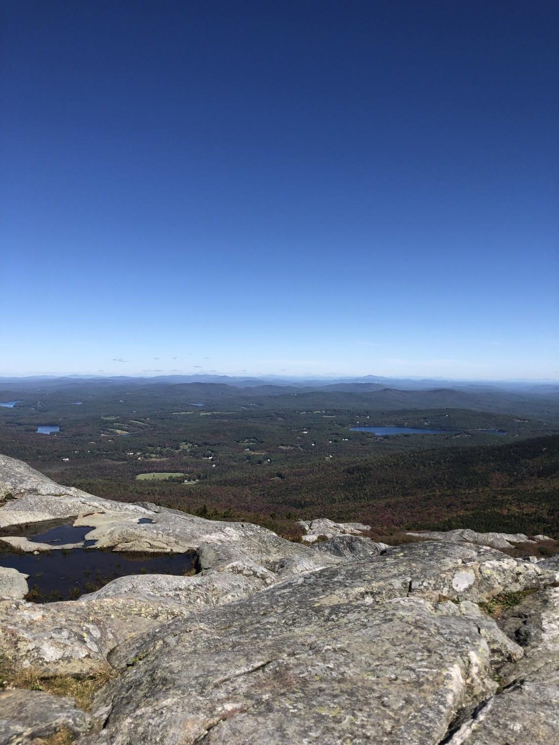 The Adventure in Literature senior seminar students took a field trip recently to Mount Monadnock.
