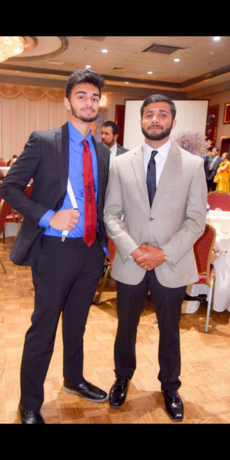 Former+WHS+Mohammed+Ramzanali+with+current+WHS+senior+Aun+Syed+at+a+friends+wedding.+