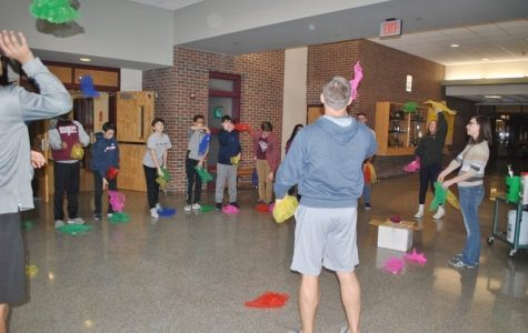 Students Relax During National Mental Health Week