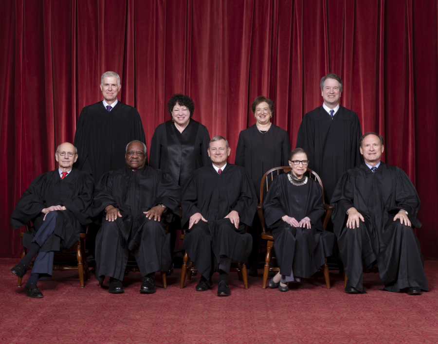 +The+current+Supreme+Court+justices+are+Clarence+Thomas%2C+Ruth+Bader+Ginsberg%2C+Stephen+Breyer%2C+Samuel+Alito%2C+Sonia+Sotomayor%2C+Elena+Kagan%2C+Niel+Gorsuch%2C+Brett+Kavanaugh%2C+and+Chief+Justice+John+Roberts.+%0A