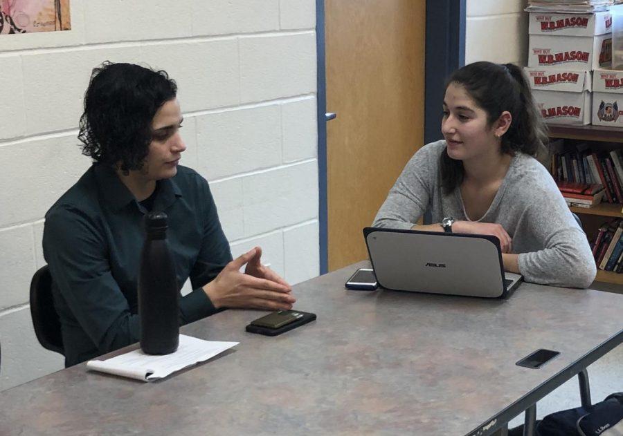 Orfao was interviewed by senior co-editor Miara Sasdi.  Ironically, Orfao was Sasdis after school counselor over 10 years ago.