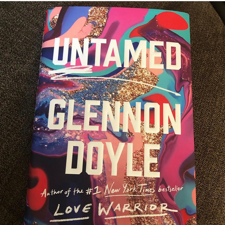 WHS+senior+Caroline+White+says+Untamed+by+Glennon+Doyle+is+a+book+about+women+breaking+free+from+the+constraints+that+society+places+upon+them.