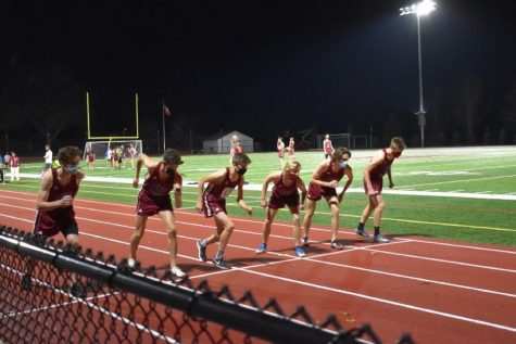 Boys Cross Country Shines Bright Under the Lights