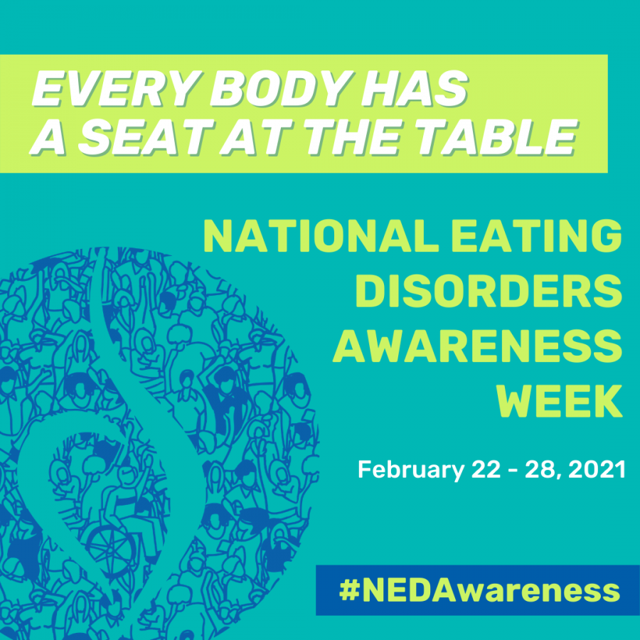 NEDAW is an important week in which to learn more about how eating disorders affect teenagers physical and mental health.
