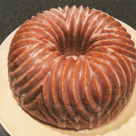 A gluten-free coffee cake that my mom and I sometimes make together (one of my favorite gluten-free foods).