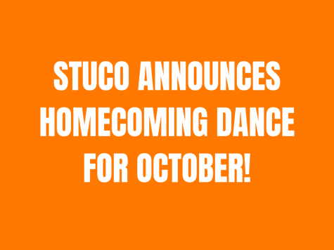 Stuco Announces Homecoming Dance For October