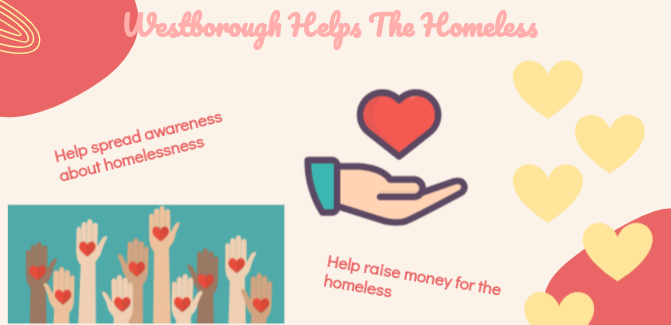 """New WHS Club:  """"Westborough Helps the Homeless"""" is Ready to Make a Difference"""