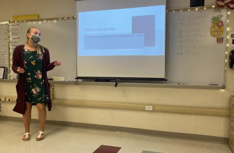 Health Teacher Miss Fournier:  Have courage and be kind