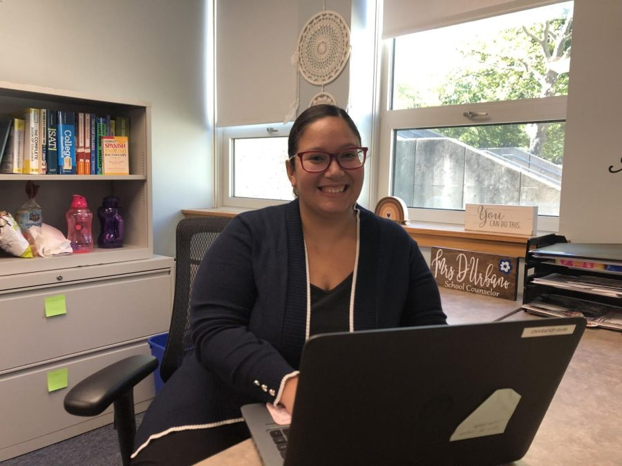 Guidance Counselor Ms. DUrbano:  Helping Students One Day at a Time