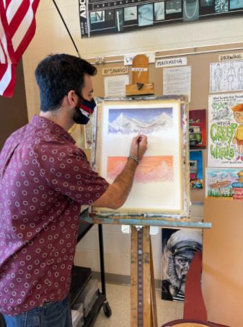 WHS Art Teacher and Ski Coach Mr. Glenn, A Profile